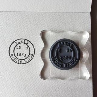 【輸入品】スタンプ 『古い消印』(印鑑/スタンプ/朱肉)