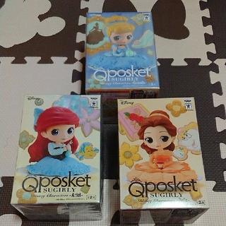 ディズニー(Disney)のQposket ディズニー プリンセス 3姫セット(アニメ/ゲーム)
