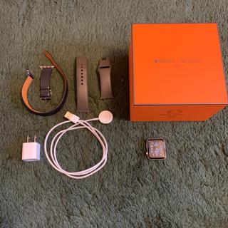 アップルウォッチ(Apple Watch)の限定!エルメス アップルウォッチ シリーズ3 Hermes series3 (腕時計(デジタル))