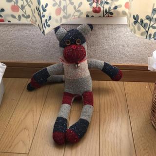 ハンドメイド品✳︎ソック猫ちゃん(ぬいぐるみ)