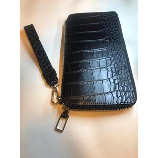 ザラ(ZARA)のZARA 長財布 ブラック (長財布)