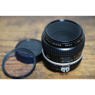 ニコン(Nikon)のNikon マイクロニッコール 55/3.5 (レンズ(単焦点))