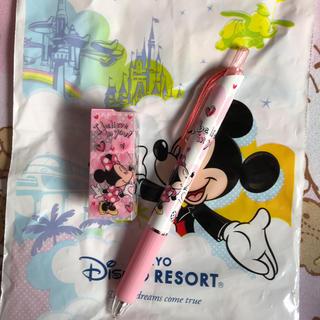 ディズニー(Disney)のボールペン、消しゴムセット(その他)