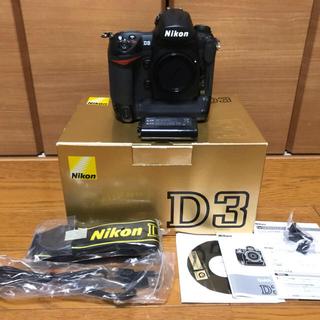 Nikon - nikon ニコン D3 シャッターユニット交換・オーバーホール済 中古品