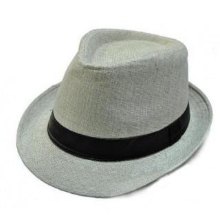 ハット帽 帽子 ユニセックス ライトグレー(ハット)