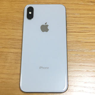 iPhone - Apple iPhoneX 64GB シルバー Softbank