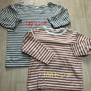 ムジルシリョウヒン(MUJI (無印良品))のMUJI(無印良品)キッズ長袖Tシャツ100・120センチ(Tシャツ/カットソー)