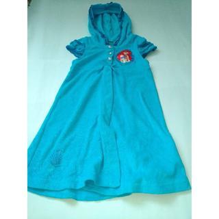 ディズニー(Disney)の子供服 ディズニー 青  110-120(ワンピース)