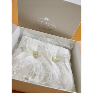 結婚式 ウェディング ブライダル リングピロー EXELCO DIAMOND(リングピロー)