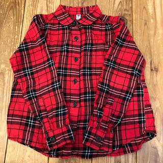 ユニクロ(UNIQLO)のユニクロ☆チェックシャツ☆110cm(ブラウス)