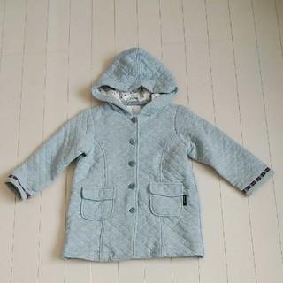 フーセンウサギ(Fusen-Usagi)のフーセンウサギ 100センチグレー中綿ジャケット(コート)
