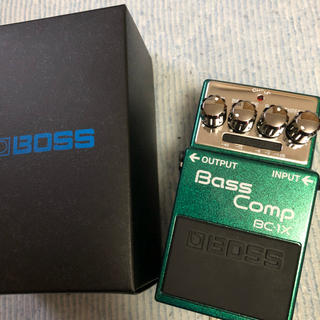 ボス(BOSS)のBoss bass comp BC-1X(ベースエフェクター)