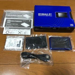 エヌイーシー(NEC)の【即購入OK】 WIMAX 2+ Speed Wi-Fi NEXT WX03(PC周辺機器)
