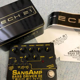 SansAmp bass driver DI TECH 21(ベースエフェクター)