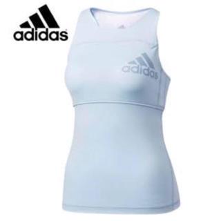 アディダス(adidas)のadidas  機能素材   6145円の品 ブラカップ付タンクトップ!Mサイズ(トレーニング用品)