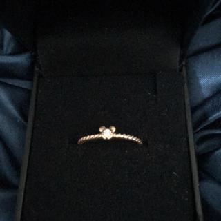 ディズニー(Disney)のディズニーシー 指輪 18k ダイヤモンド(リング(指輪))