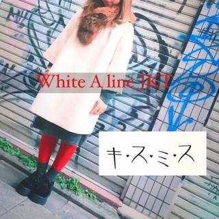 キスミス(Xmiss)の▼ Xmiss White A line JKT ▼(ピーコート)