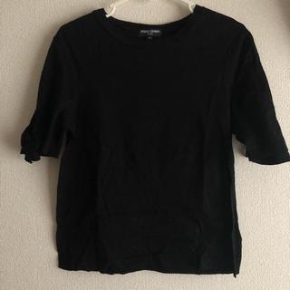 オープニングセレモニー(OPENING CEREMONY)の【オープニングセレモニー】袖リボンTシャツ(Tシャツ(半袖/袖なし))