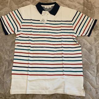 ザショップティーケー(THE SHOP TK)のTHE SHOP TK 半袖 ボーダーポロシャツ(ポロシャツ)