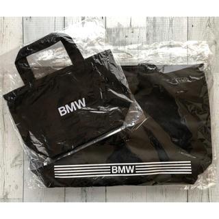 ビーエムダブリュー(BMW)の新品・未使用BMW保冷も出来るトートバッグ(大)&(小) set (ノベルティグッズ)