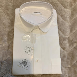 ザショップティーケー(THE SHOP TK)の定価4,900円THE SHOP TK  白長袖シャツ(シャツ)