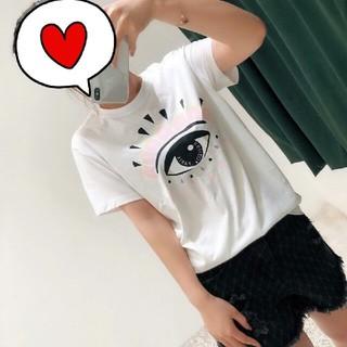 ケンゾー(KENZO)のKENZO大目の甘さ系女性半袖Tシャツ(Tシャツ(半袖/袖なし))