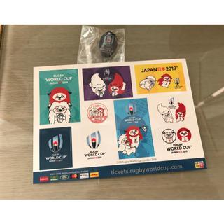ラグビーワールドカップ2019 シール、バッジ(ラグビー)