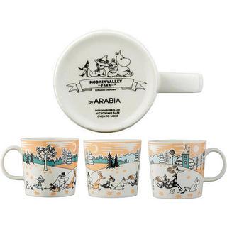アラビア(ARABIA)のムーミンバレーパーク 限定 ARABIA マグカップ (グラス/カップ)