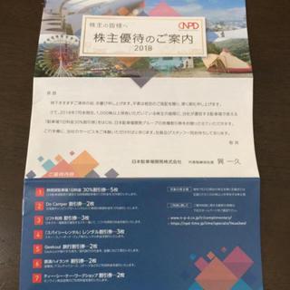 日本駐車場開発 株主優待券 一冊(スキー場)