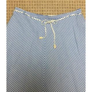 ドゥファミリー(DO!FAMILY)のドゥ ファミリー ストライプ フレアスカート(ひざ丈スカート)