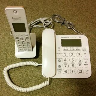 Panasonic - パナソニック コードレス電話機