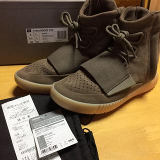 アディダス(adidas)のBY2456 Yeezy Boost750 brown 26cm(スニーカー)