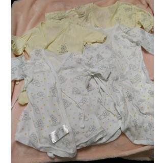 ディズニー(Disney)のディズニー くまのプーさん 新生児肌着 短肌着 コンビ肌着 4枚セット(肌着/下着)