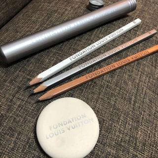 ルイヴィトン(LOUIS VUITTON)の新品未使用 ルイヴィトン美術館限定 鉛筆 消ゴムセット(ペンケース/筆箱)