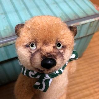 有名テディベア作家様チビチビ柴犬くん(ぬいぐるみ)