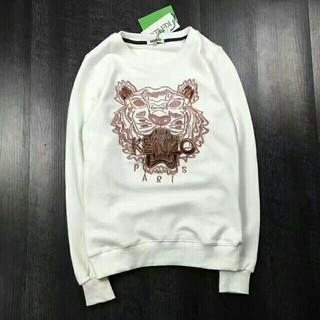 ケンゾー(KENZO)のM サイズ KENZOケンゾー 刺繍トレーナー 男女兼用タイガー(パーカー)