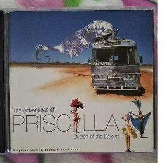 プリシラ(PRISILA)の映画プリシラ クイーン オブ ザ デザート    CD(映画音楽)