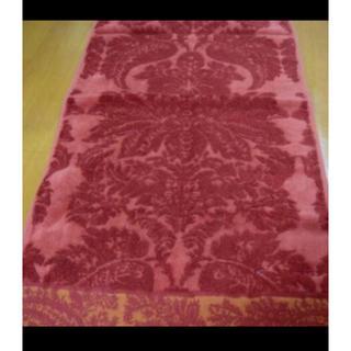 エトロ(ETRO)のエトロフェイスタオル R系カラーロゴ刺繍(タオル/バス用品)