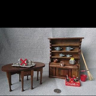 ドールハウス 家具 キッチン(ミニチュア)