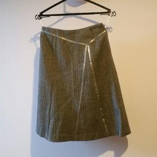 クレデヴェール(cledevers)の日本製 クレデヴェールスカート(ひざ丈スカート)