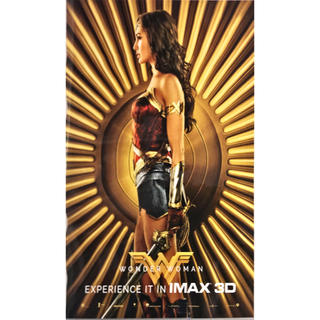 WONDER WOMAN IMAX上映入場者特典ポスター(アメコミ)