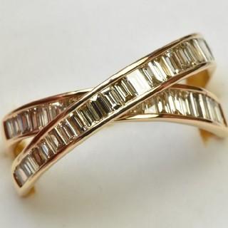 専用です K18PG 合計 1.00ct ダイヤモンドリング 14号 指輪  (リング(指輪))