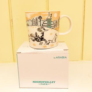 アラビア(ARABIA)の新品 ARABIA アラビア ムーミンバレーパーク 限定マグ(グラス/カップ)