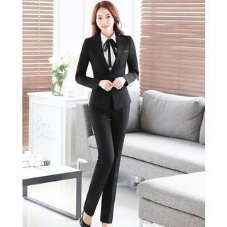 スーツ レディース スーツ パンツ  ジャケット 卒業式 事務服(礼服/喪服)