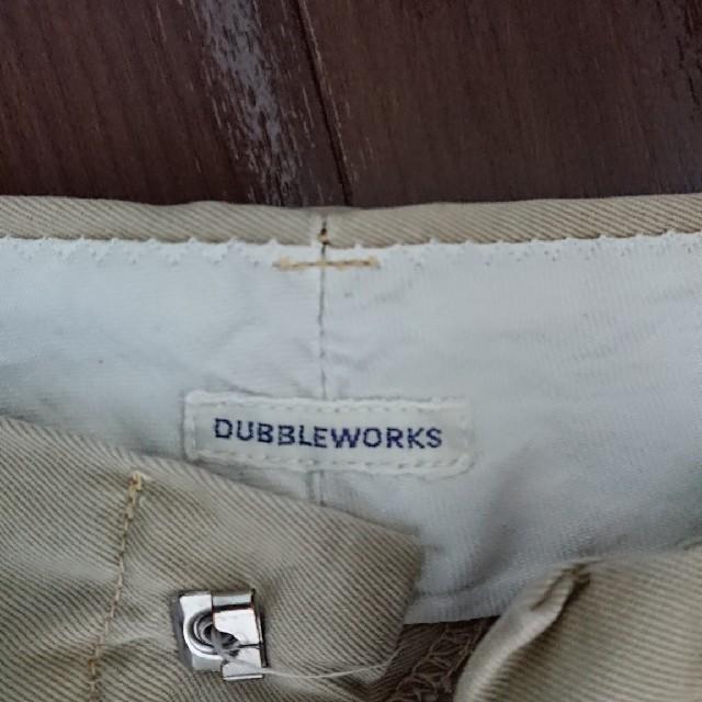DUBBLE WORKS(ダブルワークス)のDOUBLE WORKS チノショーツ メンズのパンツ(ショートパンツ)の商品写真