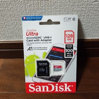サンディスク(SanDisk)の★新品★クラス⑩★SanDisk★microSD 128GB A1★(その他)