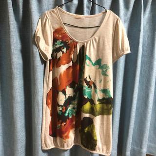 ロングTシャツ Lサイズ(Tシャツ(半袖/袖なし))