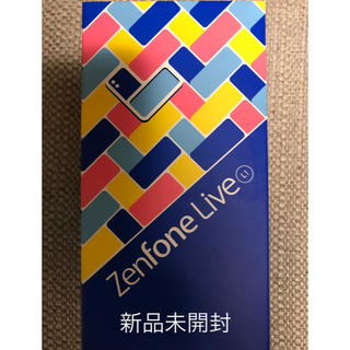 ASUS - ZenFone LIVE L1 国内SIMフリー ZA550KL ゴールド  金
