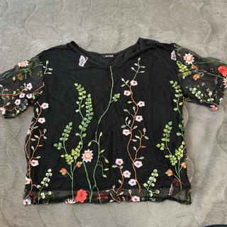 シマムラ(しまむら)のしまむら 刺繍 Tシャツ(Tシャツ(半袖/袖なし))