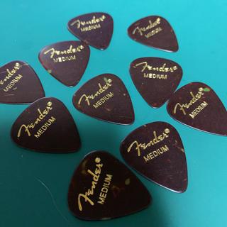 フェンダー(Fender)のfenderギターピック ティアドロップmedium×10枚(その他)